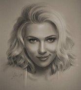 Celebrity-Pencil-Portraits-Scarlet-Johansson