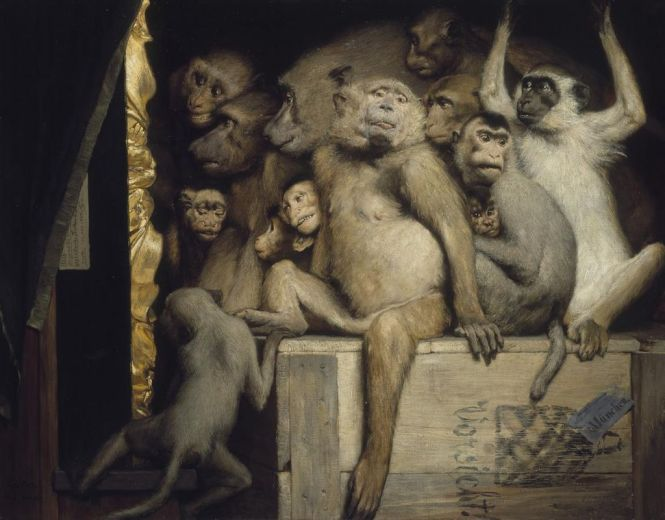 1024px-Gabriel_Cornelius_von_Max,_1840-1915,_Monkeys_as_Judges_of_Art,_1889